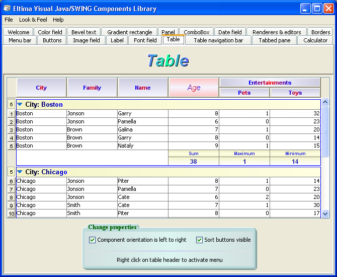 Java swing java swing tools java gui builder